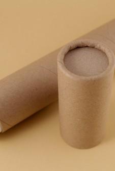 Картонный тубус-футляр для упаковки канцелярии