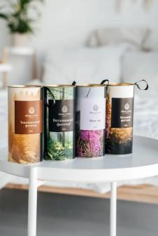 Упаковка с петелькой в крышке для фито-чая