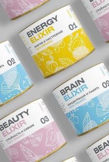 Упаковка для био добавки с пищевым внутренним слоем