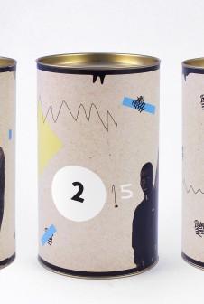 Креативные картонные тубусы для упаковки.