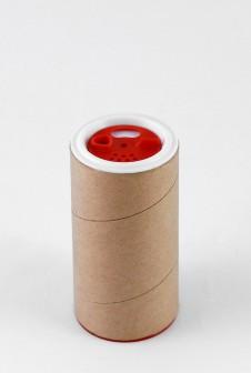 Тубус упаковка для специй с дозатором.