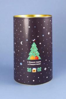 Новогодняя упаковка для корпоративного подарка «Диком».