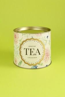 Упаковка для чая. Этикетка: мелованная бумага, офсетная печать.