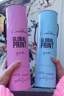 Упаковка для промоакций. Этикетка: мелованая бумага, цифровая печать.