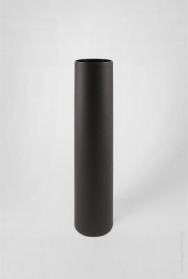 Черный картонный тубус 63×330 мм