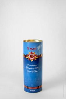 Тубус для конфет с логотипом