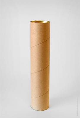 Картонный тубус 80×450 мм