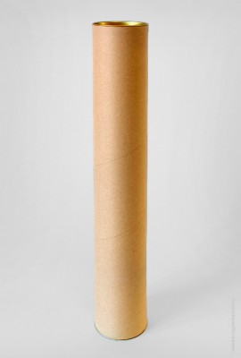 Картонный тубус 80×1000 мм