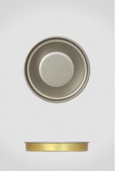 Крышка для тубуса Ø63 серебро, евро