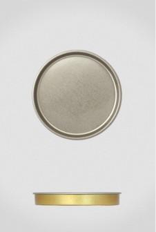 Крышка для тубуса Ø63 серебро, плоская