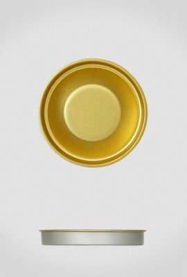 Крышка для тубуса Ø63 золото, евро