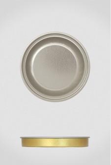 Крышка для тубуса Ø73 серебро, евро