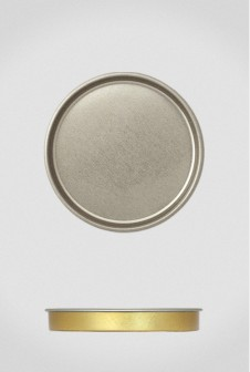 Крышка для тубуса Ø73 серебро, плоская