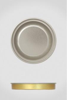 Крышка для тубуса Ø80 серебро, евро