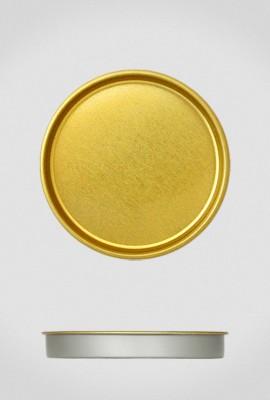 Крышка для тубуса Ø80 золото, плоская