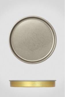 Крышка для тубуса Ø92 серебро, плоская