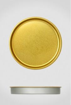 Крышка для тубуса Ø92 золото, плоская